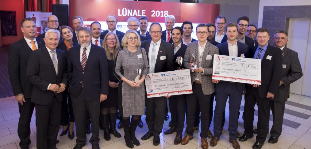 Preisträger und Preisstifter der Lünale 2018